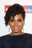 Amirah Vann. NEW YORK-APR 19: Amirah Vann attends the Food Bank for New York City`s Can-Do Awards Dinner 2017 at Cipriani`s on April 19, 2017 in New York City Stock Photo