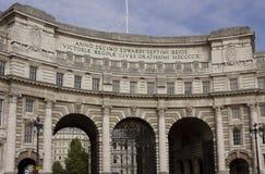 Amiral Arch à Londres Images libres de droits