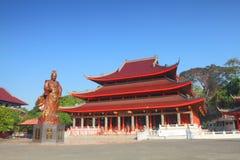 Amiral Ceng Ho Temple Image libre de droits