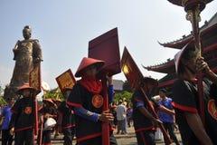 Amiral Cheng Ho de traînée Photos libres de droits