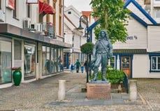 Amiral Cornelius Cruys de sculpture Image libre de droits