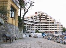 Amiral d'hôtel de Remisens dans Opatija Photographie stock libre de droits