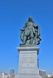 Amiral dans Michiel de Ruyter néerlandais Image stock