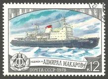 Amiral Makarov de brise-glace Photo libre de droits