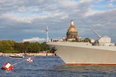 Amiral Makarov de frégate Image libre de droits