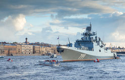 Amiral Makarov de frégate Photo libre de droits