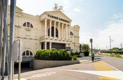 Amiral Mendrisio de casino, est un des plus luxueuse et les casinos à la mode en Suisse ont placé dans Mendrisio Photographie stock libre de droits