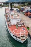 Amiral océanographique Vladimirsky de bateau de recherches Image libre de droits
