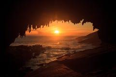 Amiraler välva sig i solnedgångljus i den sydliga delen av Flindersjaktnationalparken royaltyfria bilder