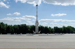 Amiralitetet fyrkant i Voronezh Royaltyfria Foton