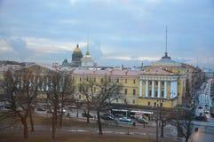 Amiralitetet i St Petersburg, Ryssland Arkivfoton
