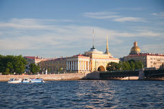 Amirauté à St Petersburg Photos libres de droits