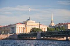Amirauté à St Petersburg Photos stock