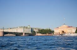 Amirauté à St Petersburg Photographie stock