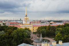 Amirauté à St Petersburg, Russie Image stock