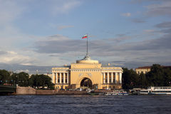 Amirauté dans le St Petersbourg Image stock
