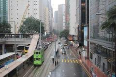 Amirauté et Wan Chai, Hong Kong Image libre de droits