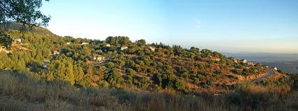 Amirim Landschaft Stockfoto