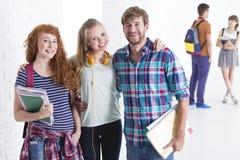 Amis à l'université Image libre de droits