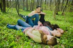 Amis Photo stock