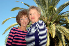Amis aînés Photos libres de droits