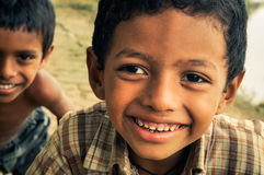 Amis aux yeux bruns au Bangladesh Photos libres de droits