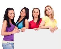 Amis avec l'espace de copie Image stock