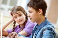 Amis d'école Image libre de droits