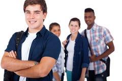 Amis d'étudiant d'école Images libres de droits