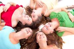 amis d'adolescent images libres de droits