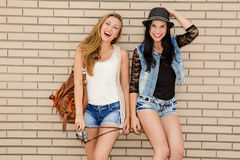 amis d'adolescent Photographie stock libre de droits