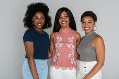 Amis d'afro-américain Photo libre de droits