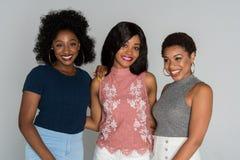Amis d'afro-américain Image stock