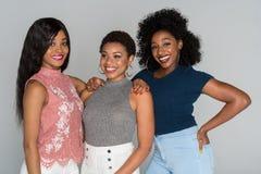 Amis d'afro-américain Photographie stock libre de droits