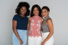Amis d'afro-américain Images stock