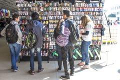 Amis d'Anime Photos stock