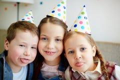 Amis d'anniversaire Photo libre de droits