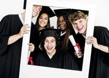 Amis d'Education School Academic d'étudiant Photographie stock libre de droits