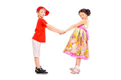 Amis d'enfance Image libre de droits