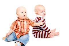 Amis d'enfant en bas âge Image stock