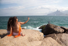 Amis dans Ipanema Photo stock