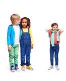 Amis dans le jardin d'enfants Image stock