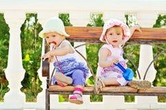 Amis de bébé Photos libres de droits