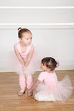 Amis de ballet Photo stock