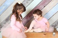 Amis de ballet Photographie stock
