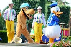 Amis de canard de Donald et de conte de fées Photo libre de droits
