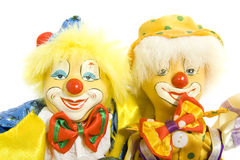 Amis de clown Photos stock
