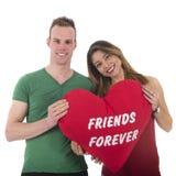 Amis de couples d'amour pour toujours Photos libres de droits
