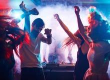 Amis de danse Image stock