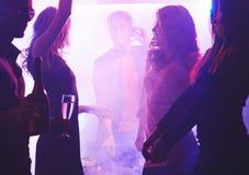Amis de danse Photos stock